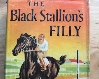 The Black Stallion's Filly * Walter Farley * Milton Menasco * Random House * 1952 * Vintage Kids Book