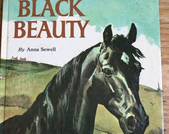 Black Beauty * Anna Sewell * Pers Crowell * Grosset & Dunlap * 1962 * Vintage Kids Book