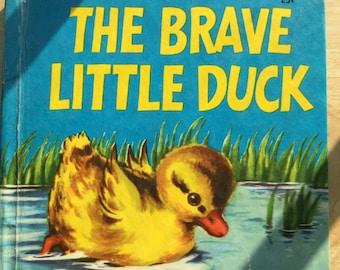The Brave Little Duck * Fleur Conkling * Marguerite Gayer * Wonder Books * 1953 * Vintage Kids Book