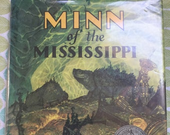 Minn of the Mississippi * Holling Clancy Holling * Houghton Mifflin * 1979 * Vintage Kids Book