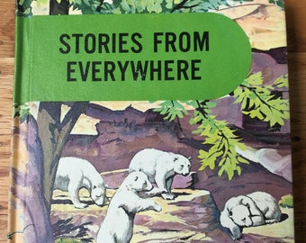Stories from Everywhere * Classmate Edition * Sample Copy * Guy L Bond * Lyons and Carnahan * 1962 * Vintage Text Book