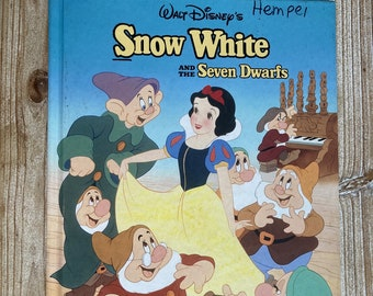 Snow White and the Seven Dwarfs * Mouse Works * 1993 * Vintage Kids Book