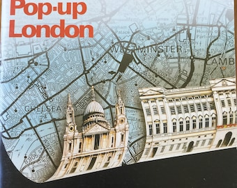 Pop-Up London * A pop-up book to make yourself * Anne Wild * Tarquin Publications * Vintage Kids Book