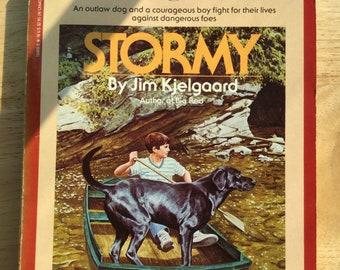 Stormy * Jim Kjelgaard * Bantam Books * 1986 * Vintage Dog Book