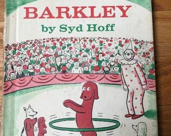 Barkley * An Early I Can Read Book * Syd Hoff * Harper & Row * 1975 * Vintage Kids Book