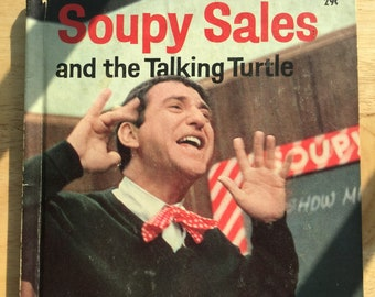 Soupy Sales and the Talking Turtle * Jean Bethel * Tony Tallarico * Wonder Books * 1965 * Vintage Kids Book