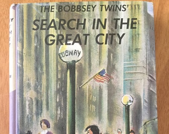 The Bobbsey Twins' Search In The Great City * Laura Lee Hope * Grosset & Dunlap * 1960 * Vintage Mystery Book