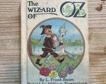 The Wizard of Oz * L. Frank Baum and William Furstenberg * W. W. Denslow * Weekly Reader * 1984 * Vintage Kids Book