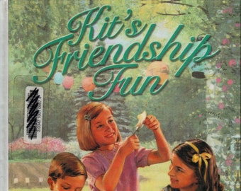 Kit's Friendship Fun + American Girl + Pleasant Company + 2002 + Vintage Craft Book