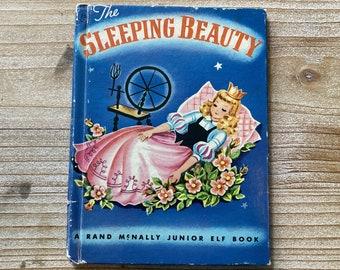 The Sleeping Beauty * Junior Elf Book * Vivienne Blake * Rand McNally * 1951 * Vintage Kids Book