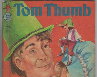 Tom Thumb * Tip Top Elf Book * Lucille Wallace * Rand McNally * 1959 * Vintage Kids Book