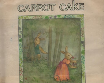 Carrot Cake * First Edition * Nonny Hogrogian * Greenwillow Books * 1977 * Vintage Kids Book