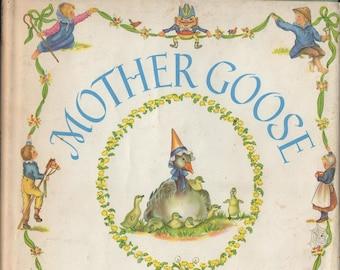 Mother Goose * Seventy-Seven Verses * Tasha Tudor * Henry Z. Walck, Inc. * 1972 * Vintage Kids Book