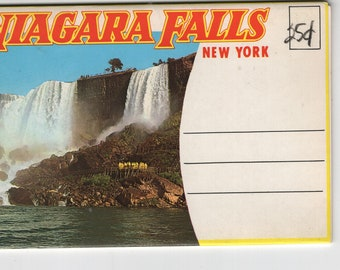 Niagara Falls * New York * Vintage Souvenir Folder