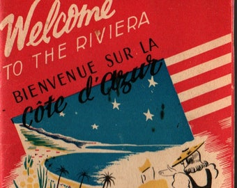 Welcome to the Riviera * Special & Information Services, United States Riviera Recreational Area * 1945 * Vintage Tour Guide