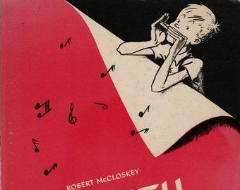 Lentil + Second Scholastic Printing + Robert McCloskey + 1969 + Vintage Kids Book