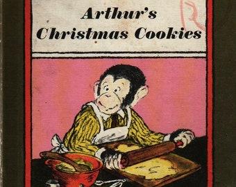 Arthur's Christmas Cookies An I Can Read Book * Lillian Hoban * 1972 * Vintage Kids Book