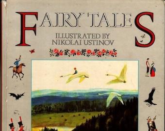 Fairy Tales * Nikolai Ustinov * Doubleday & Company * 1987 * Vintage Kids Book