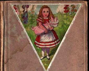Alice in Wonderland + Lewis Carroll + Hugo Von Hofsten + 1911 + Vintage Kids Book