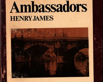 The Ambassadors * Norton Critical Edition * Henry James * 1964 * Vintage Classic Book