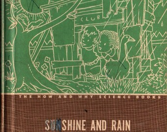 Sunshine and Rain + Gary Brown Wiser + 1949 + Vintage Text Book