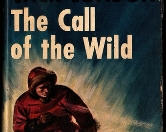 The Call of the Wild + Jack London + 1931 + Vintage Kids Book