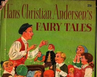 Hans Christian Andersen's Fairy Tales + James Caraway + 1952 + Vintage Kids Book