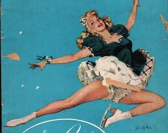 Ice Cycles of 1950 * Snow White * 1950 * Vintage Ephemera Book