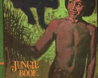 The Jungle Book * Rudyard Kipling * William Dempster * Educator Classic Library * 1968 * Vintage Kids Book