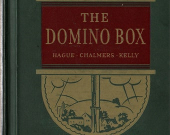 The Domino Box Character Story Readers Book Two * Hague, Chalmers, Kelly * Kenetha Thomas * 1935 * Vintage Kids Text Book