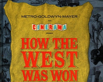 How the West Was Won  + 1963 + Vintage Movie tie-in Book