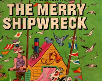 The Merry Shipwreck * Georges Duplaix * Tibor Gergely * 1970 * Vintage Kids Book