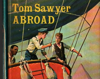 Companion Library Tom Sawyer Abroad / A Dog of Flanders  - Ouida, Samuel Clemens, H. B. Vestal & Gerald McGann - 1965 - Vintage Kids Book
