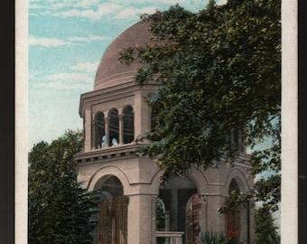 Franciscan Monastery + Washington, D. C. + Vintage Artchrom Postcard