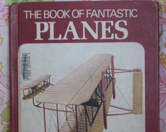 The Book of Fantastic Planes * Nicholas de Vere * Roy Coombs * 1974 * Vintage Kids Book