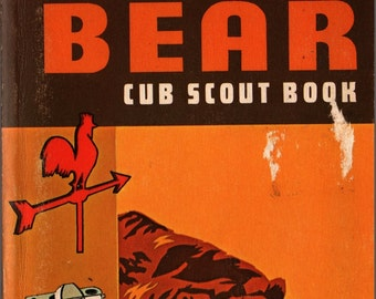 Bear Cub Scout Book * Boy Scouts of America * 1976 * Vintage Kids Book
