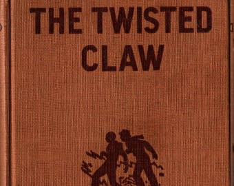 The Twisted Claw + Hardy Boys + Franklin W. Dixon + Paul Laune + 1939 + Vintage Mystery Book