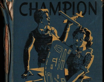 Champion Arithmetics Stepped-Up Edition Book Two + Joseph C. Brown + Nell Huckle Compton + 1937 + Vintage Text Book