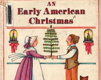An Early American Christmas + Tomie de Paola + 1987 + Vintage Kids Book