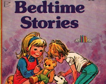 Bedtime Stories + Jane Carruth + Phil Gascoine + 1976 + Vintage Kids Book
