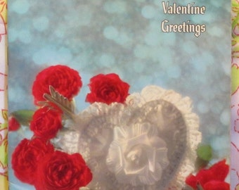 Valentine Greetings + Ideals Publishing + 1966 + Vintage Book
