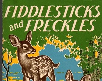 Fiddlesticks and Freckles + Sam Campbell + Harry H. Lees + 1955 + Vintage Kids Book