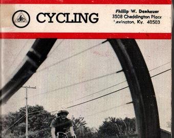 Cycling: Boy Scouts of America Merit Badge Series * 1971 * Vintage Kids Book
