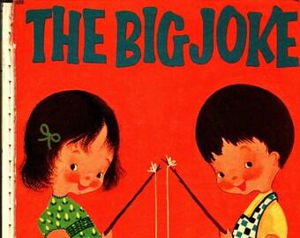 The Big Joke * George Bonsall * Crosby Newell * Wonder Books * 1955 * Vintage Kids Book