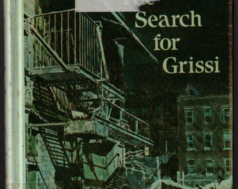 The Search For Grissi + Mary Francis Shura + Ted Lewin + 1985 + Vintage Kids Book