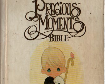 Precious Moments Bible for Catholics * 1993 * Vintage Religious Book