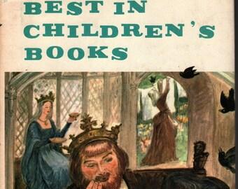 Best in Children's Books Vol. 13 * James Baldwin, Jakob and Wilhelm Grimm, Marguerite De Angeli, Paul Galdone  * 1958 * Vintage Kids Book