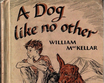 A Dog Like No Other + William MacKellar + Nora S. Unwin + E. M. Hale & Company + 1968 + Vintage Kids Book