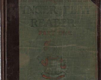 Finger Play Reader Part I + John W. Davis and Fanny Julien + 1909 + Vintage Kids Book