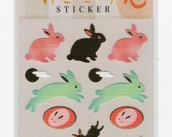 S & C * Lucky Rabbit * Sticker Set * Japanese Stationery